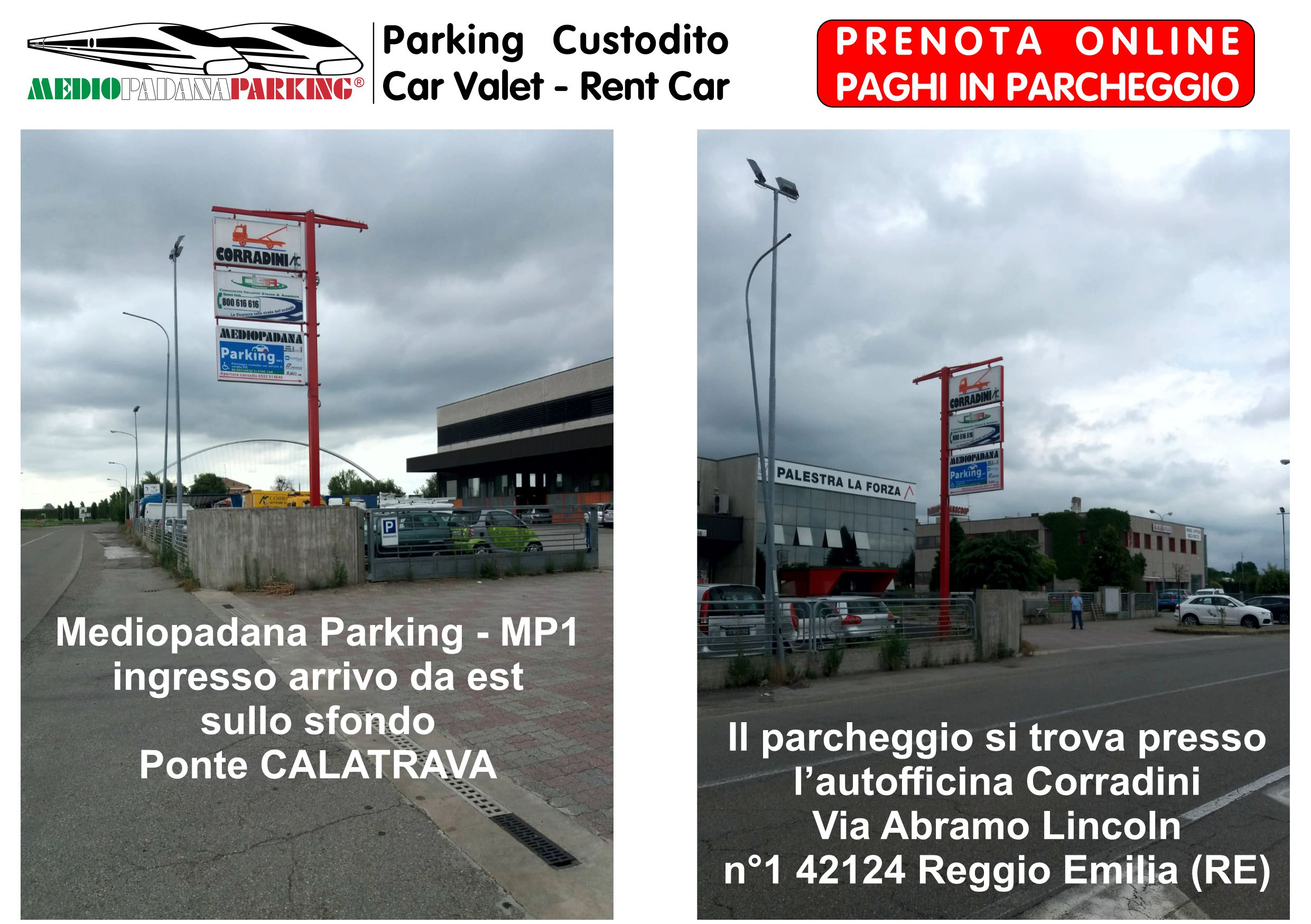 Mediopadana Parking - MP1